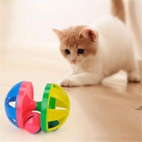for s with Bell Ring Playing Chew Scratch Plastic Ball Interactive Training Toys Pet Cat Supply DWF7777AK7K