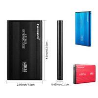 "HDD SSD USB3.0 2,5 ""5400RPM externe Festplatten 500GB 1TB 2TB USB Mobile Storage Gerät Tragbare Festplatte für Notebook-PC-Laptop-Desktop"