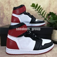 Top Quality Sapatos de Basquete Jumpman 1 1s Og Alta Pinho Verde Preto Tribunal Roxo Royal Come Tee NC Obsidian UNC Game Running Sneakers Treinadores