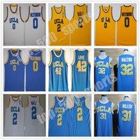 UCLA Bruins college basket Russell Westbrook Lonzo Ball Zach Lavine Reggie Miller Bill Walton Kevin Love Blue Jersey