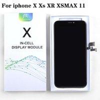 Cep Telefonu LCD Panel Pantalla iPhone XR X XS MAX 11 OLED 3D Digitizer Montajı Ile OLED Insell Hiçbir Ölü Piksel Ekran Değiştirme Ekran Parçaları