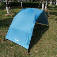 Палатки и приюты Простое портативное укрытие солнца укрытие дождь не дождь открытый ультрарегкий рыбацкий воздух беседка для кемпинга палатка садовая барака походные принадлежности D