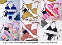 Swimwear Costume da bagno in tutto il fiore stampato da donna vintage da donna