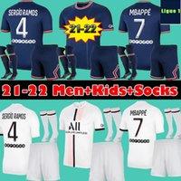 21 22  PSG Paris saint germain men adult Kids kits 2020 2021 2022 fútbol jersey Mbappé ICARDI Neymar JR camisa de hombres hijos conjuntos uniformes maillot de pie Hommes París