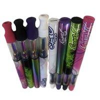 Runtz Descartável Vape Pen 1ml Delta 8 E-Cigarros Caixas Magnéticas Caixas de Embalagem Vape Carrinhos Pacote de Cartucho de Óleo Esvazie 4 Cores E Cig Bateria Vaporizador Starter Kits