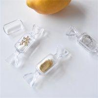 QG9 미니 휴대용 투명 캔디 상자 스토리지 스토리지 목걸이 링 작은 귀 보석 보석 포장 상자 선물 LH3