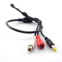 BNC Connectordc 12V 3 Stecker Mini Micro Sound Monitor Audio-Abholgeräteklemmen DC-Netzkabel für Kamera-CCTV-Mikrofon-Video