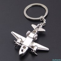 Auto Styling Aircraft Key Ring Pendant Motorcycle Keychain Accessories for Cadillac Srx Lada Vesta Astra H Volkswagen Mazda 3
