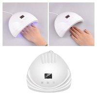 Nail Art Kits 88W Dryer UV Nails Lamp For Manicure Dry Drying Gel Ice Polish 18 LED Auto Sensor 60s 80s 99s Tool