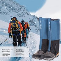 للجنسين الساق للماء يغطي يغطي الرجل لتسلق التخييم المشي لمسافات طويلة التزلج التمهيد الأحذية ثلج الجرامى الساقين حماية الذراع تدفئة