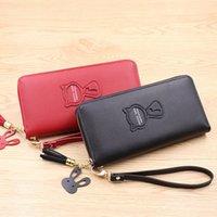 Wallets 2021 Handbag Wallet Lady Long Zip Phone Bag Coin Purse