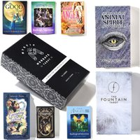 DHL Creative Fate Mysterious English Tarot Board Spiel Set Oracle Games Card Family Holiday Party Kinder Pädagogische Spielzeug