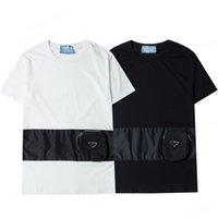 Erkekler Moda T Shirt 2021 Trendy Kadın Tees Nakış Tops Mektup Erkek Bayan Yaz Rahat Nefes Giyim Asya Boyutu