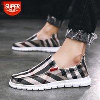 Vecchie scarpe di panno di Pechino Versione coreana degli uomini della tendenza Casual Calzature Mocassini Un pedale Soft Sole Sneakers All-Match # XU90