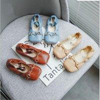Kids Shoes For Girls Flat Shoes Single Candy Color Soft Spring Dance Children Princess Dress Shoes