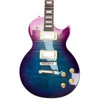 2021 Yeni Stil Elektro Gitar, Boyun ve Vücut Bir Parça, Bağlama, Tune-O-Matic Köprüsü, Gülağacı Klavye Gitar, 004