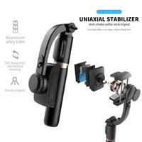 FANGTUOSI Handheld Gimbal Stabilizer With Bluetooth shutter Tripod For Smartphone Action camera Video Record Vlog Live