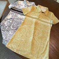 T-shirt da donna Abiti stile lungo con design di budge per la signora primavera estate autunno abito casual tees camicia girocollo collo di alta qualità maniche corte