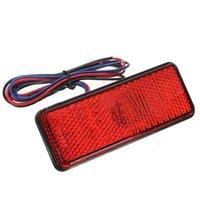 Lampadine LED riflettore rosso posteriore coda freno arresto marker luce camion rimorchio SUV moto
