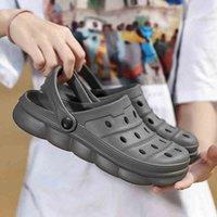 Flip Flops mujer goma chanclas zapatillas zapatillas hombre casa sandalias para hombres zapatillas zapatos zapatos zapatos mujer caminando arriba ventas crocks