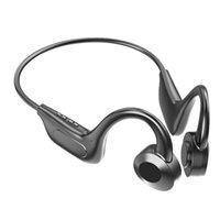 VG02 Bone Conduction hörlurar Bluetooth 5.0 Trådlös svettskyddad hörlurar Lätta sport Öron Hook headset