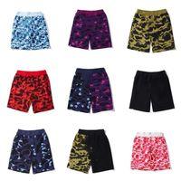 2021 diseñador para hombre algodón pantalones cortos de alta calidad deportes transpirable calle tendencia suelta playa pantalones moda hip hop ropa de calle casual