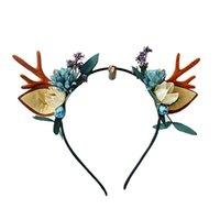 Cute Christmas Headband Deer Antler Hair Band Women Girls Christmas Antlers Horns Headband Xmas Parties Hair Accessories