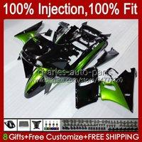 Kawasaki Ninja ZZR-400 ZZR-600 ZZR400 93 94 95 96 97 98 99 00 84HC.10 ZZR600 ZZR 600 400 2001 2002 2003 2004 2005 2006 2007 OEM 바디 키트