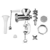 Meat Grinders Household Manual Grinder Hand-crank Homemade Sausage Machine Stuffer Pepper And Vegetable Cutter