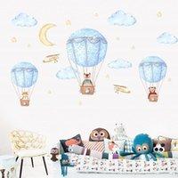 Wall Stickers Cartoon Kids Room Decor Balloon Decals Air For Home Decoration Art Murals Sticker Wallpaper