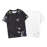 Erkekler Tasarımcılar T Shirt Erkek Saf Pamuk Üst Markalar Nakış Kısa Kollu Klasik Kısa Kollu Kazık Trend ile Nakış Lüks Kadın T-Shirt SS