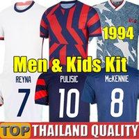Weltmeisterschaft 2021 USA Fußballtrikots PULISIC ERTZ BRADLEY PUGH LLOYD ALTIDORE 20 21 HOLZ Amerika Fußballtrikot-Set Vereinigte Staaten Männer Kinder-Kit Uniform