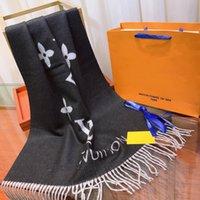 남성 편지 패턴 여자 100 % 캐시미어 긴 스카프 따뜻한 스카프 크기 180x70cm 상자에 대 한 높은 qualtiy 브랜드 deigner 스카프