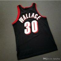 Custom Bay Juventud Mujeres Vintage Rasheed Wallace Vintage 911 Jersey College Basketball Jersey Tamaño S-4XL o Personalizado Cualquier nombre o Número Jersey