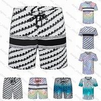 2021 Mens Womens Designers Shorts Moda Verão Streetwears Roupas Rápido de Secagem de Swimwear Impressão Board Pants Beach Calças Homem Swim Swim