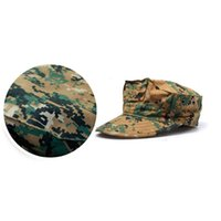 Cap Outdoor camouflage cap octagonal men's and women's breathable flat top sun protection leisure fishing