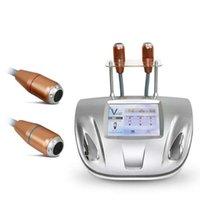 المحمولة 2 في 1 خط الرادار VMAX HIFU آلة رفع الوجه RF عالية كثافة تركز خراطيش الموجات فوق الصوتية العناية بالبشرة تشديد التجاعيد إزالة