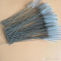 Payet Fırça Paslanmaz Çelik Saman Fırçaları Bebek Su Şişesi Temizleme Fırçaları Resuable Ev Araçları 23 cm 200 adet WLL1057