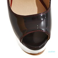 Big Size Women's Shoe 16CM High Heels 5.5cm Platform Pumps Party Shoes For Women Wedding Shoes tenis feminino Y---074
