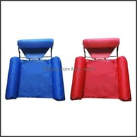 Pool Sports Outdoorspool & Aessories Summer Inflatable Chair Foldable Floating Row Swimming Water Hammock Air Mattresses Bed Beach Sport Lou