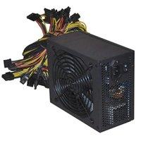 1800 W / 2000 W Şarj PC Güç Kaynağı ATX Altın Madencilik Güç Kaynağı SATA IDE 6/8 GPU ETH BTC Desteği Çoklu 12 V PSU Asic Bitcoin