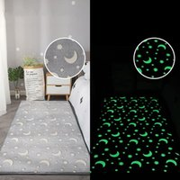 Carpets Luminous Plush Carpet Thick Fluffy Floor Rug Sofa Rugs Mat For Living Room Bedroom Bedside Home Decor