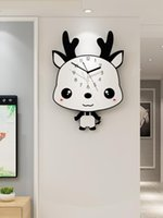 Wall Clocks Silent Clock Creative Wood Kitchen For Kids Rooms Home Decor Reloj Pared Infantil Simple Design YY60WC