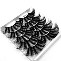 False Eyelashes Wispies Fluffies Vegan& Cruelty-free Soft Thick Lash Extension 5D Faux Mink Dramatic Long