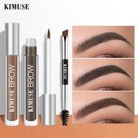 Kimuse Holting Eyebrow Gel Enhancers Makeancers Maquiagem Olhos Brow Styling Shaping Creme Cosméticos Cosméticos Escova Escova Navio Lápis 10