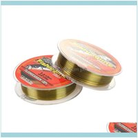 Braid Lines Sports & Outdoors100M 200M 300M 500M Japanese Technology Sliding Outdoor Tackle Super Strong Nylon Transparent Fishing Line Drop