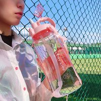 Direct factory price 1500ML 1000ml 2000ml Fashion Portable Space Herbalife Nutrition Custom Shaker straps straw water Bottle
