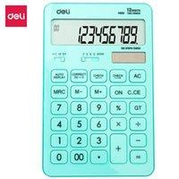 Tellers Deli Calculator 12-cijferige desktop kan automatisch berekeningsfouten corrigeren en de resultaten bijwerken