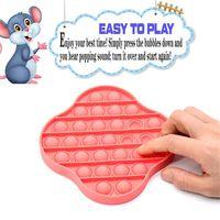 Desembale el juguete Push Bubble Sensor Sensor Septery Needs Stress Stress Anheler for Kids Fidget Squeeze descompresión