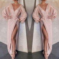 Casual Dresses Formal Dress Women Elegant Fashion Sexy Sequin Prom Gold Evening Party Female V Neck Long Maxi Vestidos